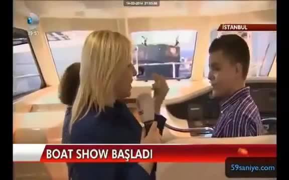 13 Yaşındaki Çocuğun 100 Bin Euroluk Teknesi