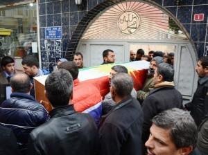 Sincar'da ölen Akbaş, Nusaybin'de toprağa verildi
