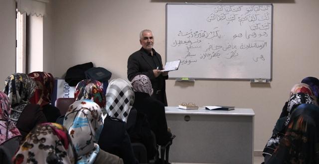 Bayan Din Görevlilerine  Arapça ve Tefsir kursu