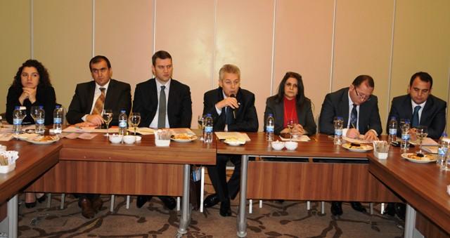 Acil Koordinasyon Kurulunun Güçlendirilmesi projesi değerlendirildi