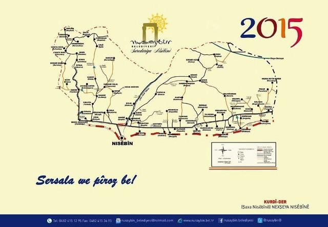 Nusaybin Belediyesinden 4 dilde takvim