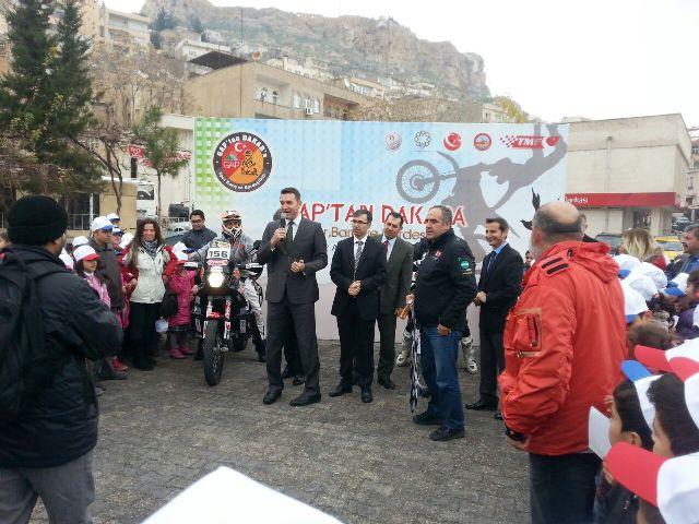 Dakar Rallisi'ne Mardin'de start
