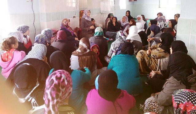 Bayan Vaizlerden Köy kadınlarına Vaaz hizmeti