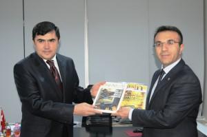 Emniyet Müdürü Şahin'den BİK Mardin Şubesine ziyaret