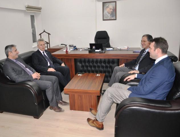 Vali Taşkesen'den, DEDAŞ Mardin İl Müdürlüğü'ne ziyaret