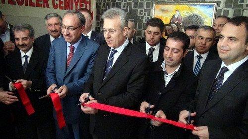 Kızıltepe Gazeteciler Cemiyeti'ne görkemli açılış