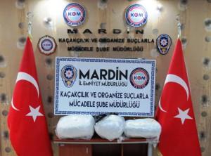 Mardin'in 6 aylık uyuşturucu bilançosu