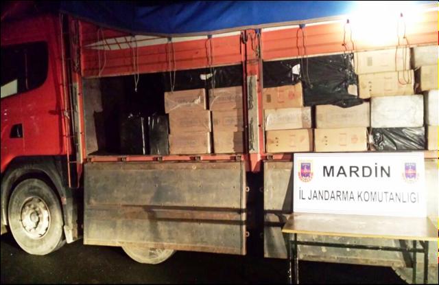 135 bin paket kaçak sigara yakalandı