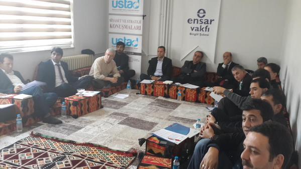 USTAD'ın çözüm süreci toplantıları sürüyor