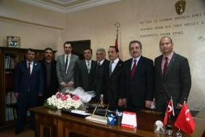 Mardin-Şırnak Mali  Müşavirler Odasından Defterdar'a Ziyaret