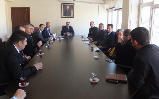 Mazıdağı'da eğitim değerlendirme toplantısı
