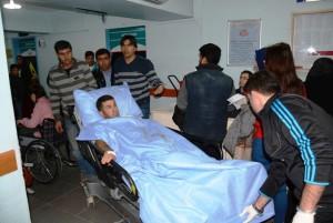Elektrik akımına  kapılan kişi yaralandı