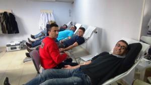 Nusaybin'de kan bağışı