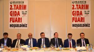 Mardin'de 2. Tarım, Gıda ve Hayvancılık Fuarına hazırlanıyor