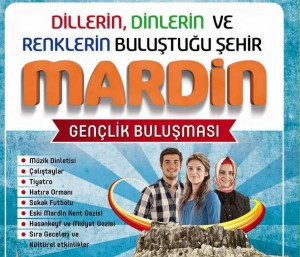 Gençler Mardin'de buluşuyor