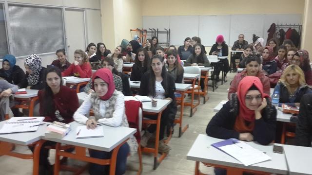 Öğrencilere DGS bilgilendirmesi