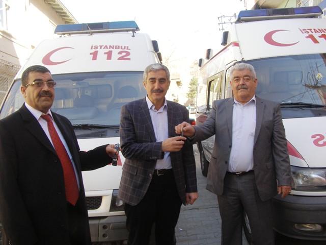 İstanbul İl Sağlık Müdürlüğünden, Derik Belediyesine 2 ambulans