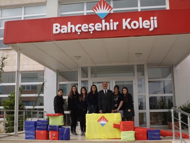 Bahçeşehir Koleji Öğrencilerinden Örnek Proje