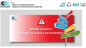 KOSGEB'ten işletmelere uyarı !