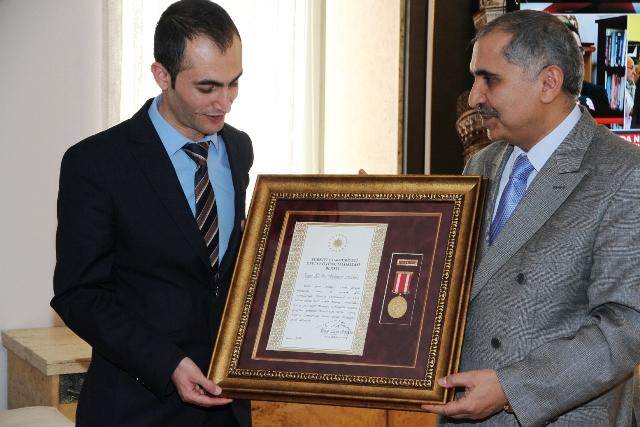 Gaziye Devlet Övünç Madalyası