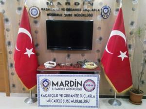 Mardin'de Mühimmat Yakalandı