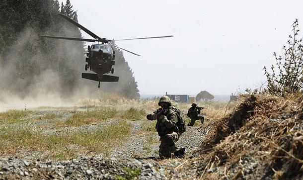 TSK sığınaklara operasyon başlattı