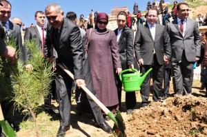 Mardin'e gönül elçileri hatıra ormanı