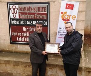 Suriyelilere yardım eli