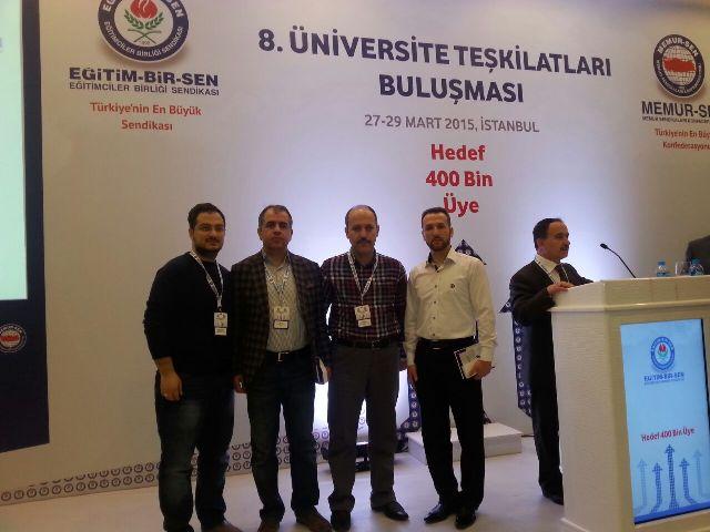 """""""Sendikamız Özgürlükçü Bir Üniversitenin Teminatıdır"""""""