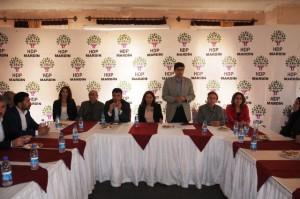 HDP aday adaylarını tanıttı