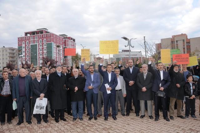 Kamaruzzaman'ın idam edilmesi protesto edildi