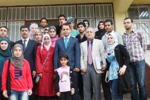 Kaymakam Ermiş'ten Suriyeli öğrencilere ziyaret