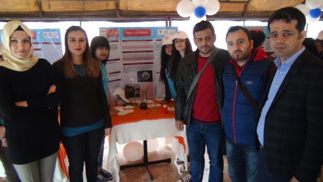 Kızıltepe'de TÜBİTAK Bilim Fuarı Sergisi