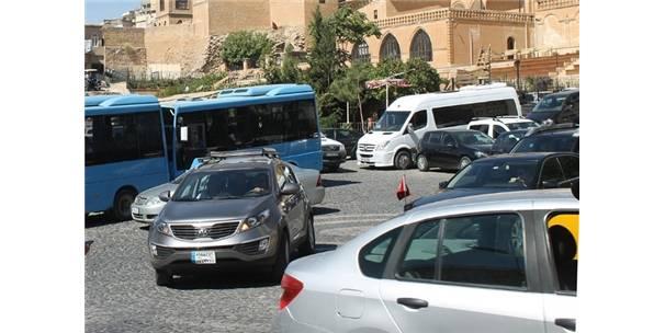 Mardin'deki araç sayısı 70 bine yaklaştı