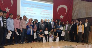Liseler arası münazara şenliği şampiyonu Mardin Fen Lisesi