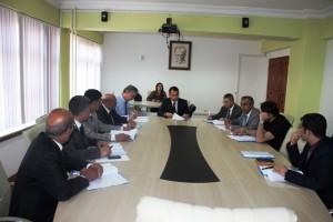 Kızıltepe'de güvenlik toplantısı