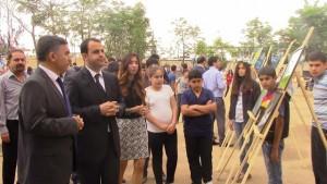 Kızıltepe'de karma resim sergisi