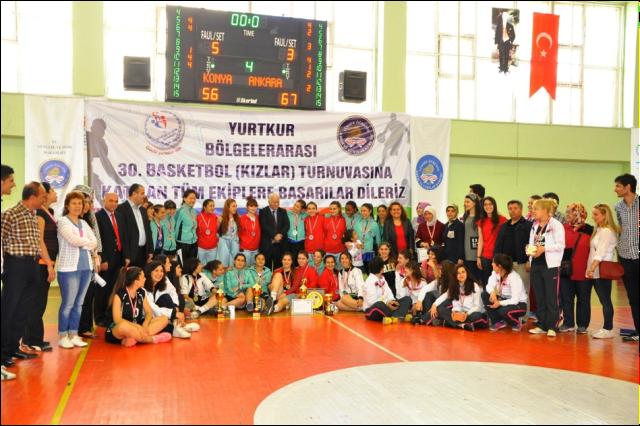 YURTKUR 30. Bölgelerarası Basketbol Turnuvası
