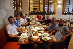 Mardin Gazeteciler Cemiyeti İftarda buluştu