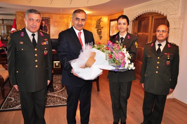 Jandarma Komutanından Vali Koçak'a ziyaret