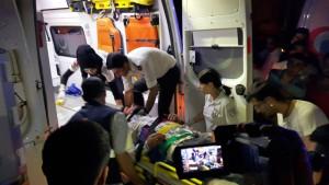 Nusaybin'de trafik kazası: 3 yaralı