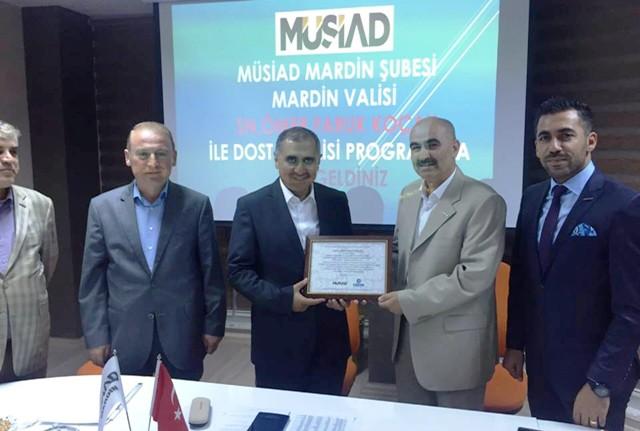 """""""MÜSİAD Türkiye ve Mardin  için önemli bir kuruluş"""""""