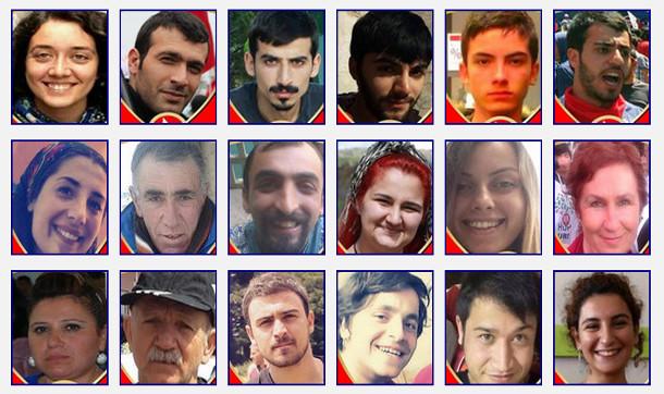 Suruç'ta hayatını kaybedenlerin isimleri belirlendi