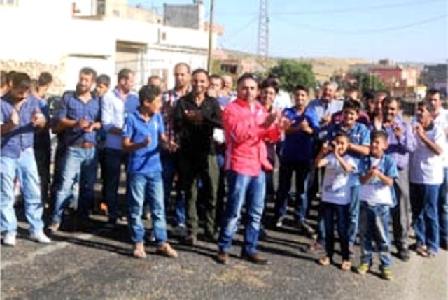 Köylülerden 'Güvenli Yol' eylemi