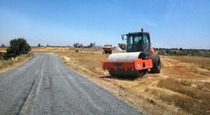 Belediye 70 km yolun yapımını tamamladı