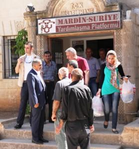 Sığınmacılar hayırseverlerin yardımlarını bekliyor