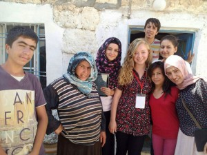 Öğrenciler Mardinliler ile kaynaşıyor