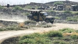 Dargeçit'te askeri araca mayınlı tuzak