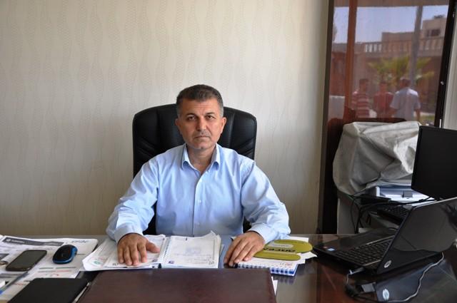 Kızıltepe Hububat Ticaret Merkezinde Kovid-19 tedbirleri