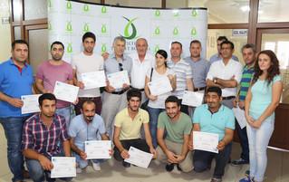 Kızıltepe'de girişimcilere sertifikaları verildi